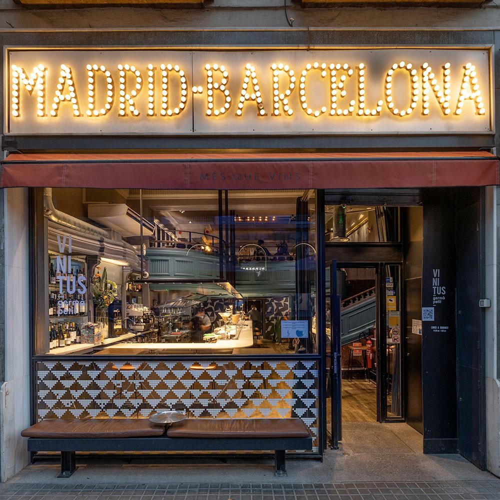 Vinitus Restaurante Barcelona. Restaurante de tapas y vinos